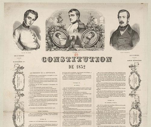Constitution du 14 janvier 1852, Second Empire