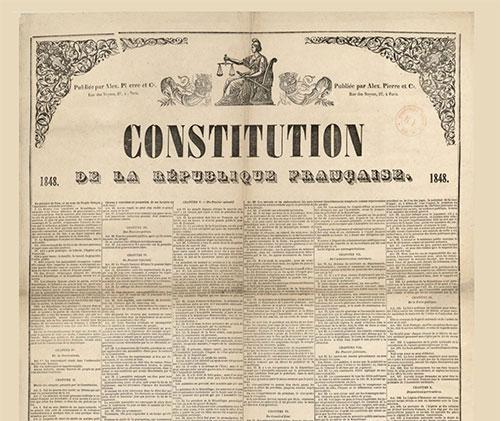 Constitution de la République française, 1848