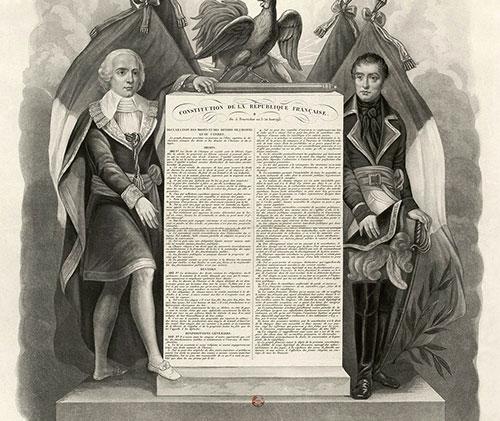 Constitution de l'An III Directoire 5 fructidor An III, 22 août 1795