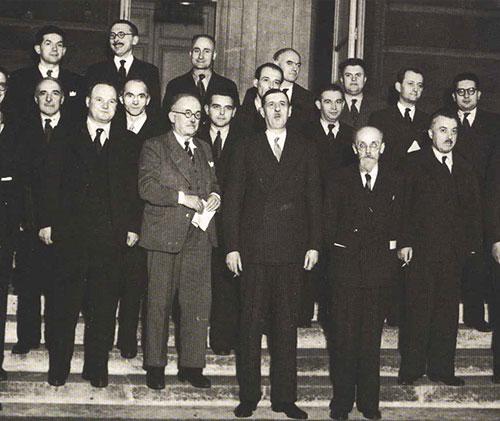 Loi constitutionnelle du 2 nov  1945   Gouvernement provisoire