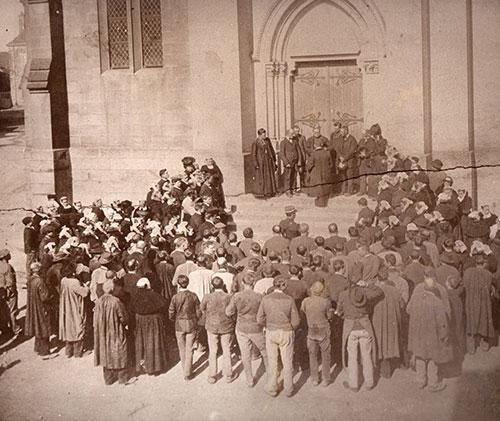 Inventaire à Guignen en mars 1906