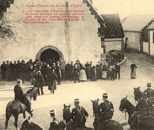 Inventaire à Thuboeuf le 8 mars 1906