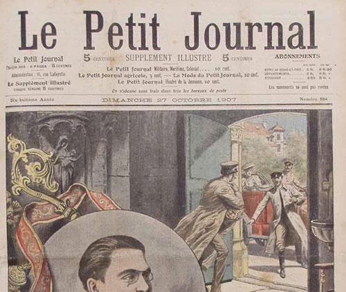 Une Petit Journal : trésors artistiques au pillage