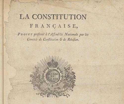 Les Constitutions